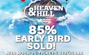 EARLY BIRD 85% SOLD - Stand 28.01.